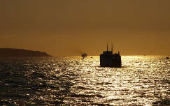 Ischia,naplemente,Földközi-tenger