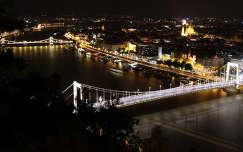 Budapest este, Erzsébet híd