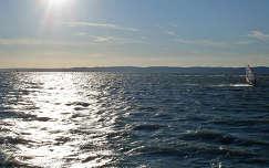 Magyarország, Balaton, Siófok-Balatonszabadi szabad-strand, széllovasok