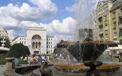 Temesvár főtere az Operával, Románia,Erdély