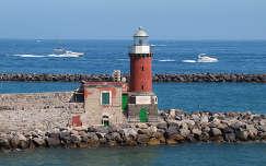 Olaszország,Ischia,világítótorony