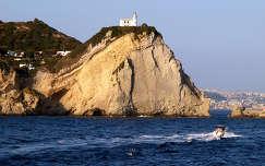 Olaszország,Miseno,világítótorony