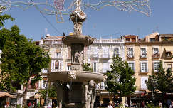 Granada-Spain, plaza Bib-Rambla
