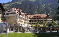Wengen a Jungfrau vonulatával,Svájc