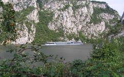 Al-Duna,Kazáni szoros,Szerbiából a román oldal látszik