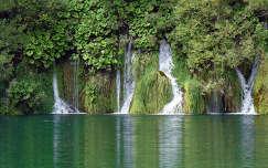 Vízesés, Horvátország, Plitvicei tavak