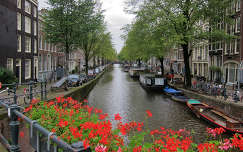 Amsterdam-Holland, Bloemgracht-Jordaan