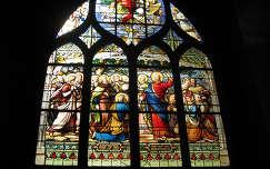 Párizs,templom ólomüveg