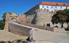Siklósi vár bejárata