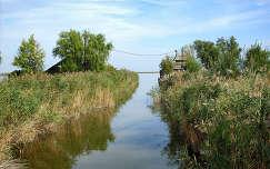 Magyarország, Fertő-tó, csatorna