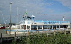 Magyarország, Fertő-tó, Fertőrákos, kikötő