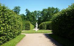 Pavlovszk, palota kertje   Oroszország