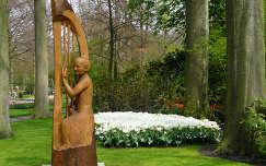 Holland, Keukenhof   Harpspeler