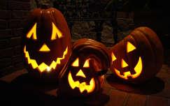 éjszakai képek halloween tök
