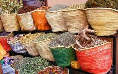 Marokkó - fűszerek
