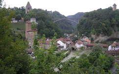 Fribourg felhőszakadás előtt, Svájc