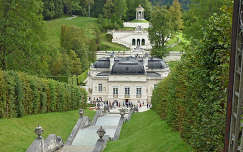 Linderhof kastély Németország