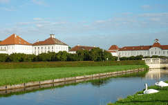 Nymphenburgi kastély, Bajor Lajos szülőhelye. Németország