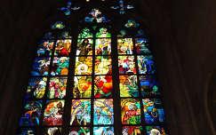 Ólom -üveg ablak - Szent Vitus-székesegyház