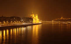 Budapest, Parlament, éjszaka