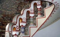 Magyarország, Székesfehérvár, Bory-vár, a zászlós torony lépcsője