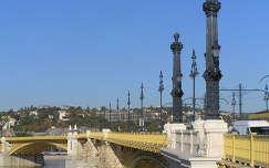 Budapest,Margit híd felújítva