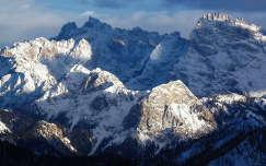 Olaszország - a Dolomitok télen