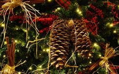 karácsonyi dekoráció karácsony toboz karácsonyfa