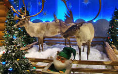karácsonyi dekoráció karácsony szarvas és őz karácsonyfa