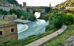 Toledo Spanje, Tago River