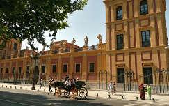 Sevilla Spain, Palacio San Telmo