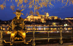 Magyarország, Budapest, Kiskirálylány szobra, Budavári Palota