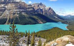 Peyto-tó, Banff Nemzeti Park,Kanada