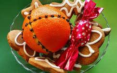 gyümölcs karácsony fűszerek karácsonyi dekoráció édesség sütemény narancs