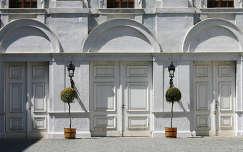 Ausztria, Kismarton, Eszterhazy-kastély belső udvara