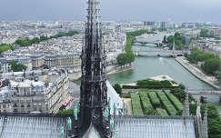 Látkép a Notre Dame-ról, Párizs