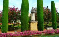 Córdoba Spain, Jardin del Alcázar de los Reyes