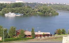 Belgrád, Száva és a Duna összefolyása, Belgrád, Szerbia