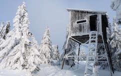 tél,vadászles,Erdely,Mezőhavas