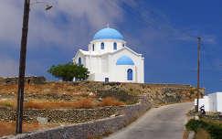 Görögország-Folegandros sziget: Aghios Georgios templom