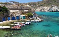 Görögország-Milos sziget: Mandrakia