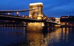 Budapest,Lánchíd by night