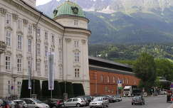 Innsbruck a császári rezidenciával,Ausztria