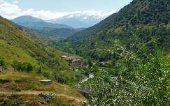 Granada Spain, Sacromonte - Sierra Nevada