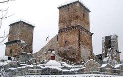 Miskolc, Diósgyőri vár (még az átépítés előtt)