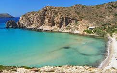 Görögország-Milos sziget: Plathiena beach