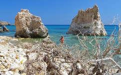 Görögország-Milos sziget: Firiplaka beach