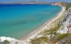 Görögország-Milos sziget: Chivadolimni beach