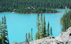 Sziklás hegység, O'Hara-tó,  Yoho Nemzeti Park, Kanada