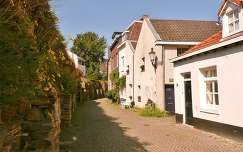 Maastricht, Nederland, Houses along the old city-walls